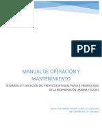 Manual de Uso y Mantenimiento Carcamo