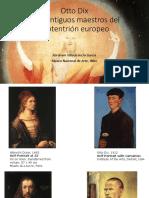 Otto Dix y los antiguos maestros europeos.pptx