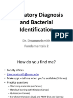 Lab Diagnosis and Bacteria ID