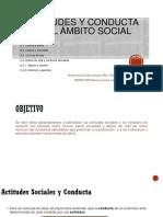 Tema 2. Actitudes y Conductas en El Ámbito Social