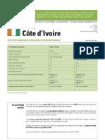 2009 Politique Agricole Monde Cote Divoire 2