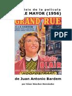 Análisis histórico de la película 'Calle Mayor', por César Sánchez