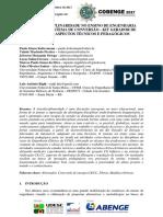 A INTERDISCIPLINARIDADE NO ENSINO DE ENGENHARIA ELÉTRICA - KIT GERADOR DE ENERGIA – ASPECTOS TÉCNICOS E PEDAGÓGICOS