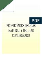 PVT de Gas Condensado y Sus Propiedades