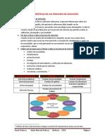 Características de Los Procesos de Selección