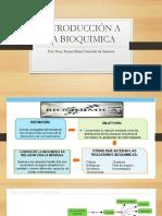 INTRODUCCIÓN A LA BIOQUIMICA. CLASE 1.pptx