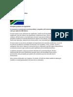 Comercio Internacional Sudafrica