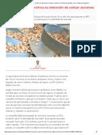 Molino Cañuelas Archiva Su Intención de Cotizar Acciones en La Bolsa