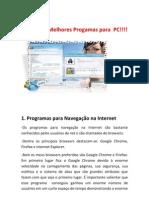 Apostila Digital-Os Melhores Progamas Para PC