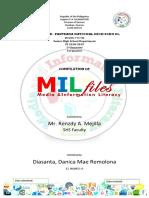MIL 1st Quarter Portfolio Format