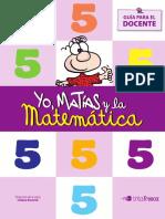 Guia Docente Yo Matías y La Matemática 2015 (5ºgrado)