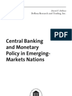 Central Banking and Monetary Policy in Emerging-Markets Nations