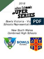 Program - Aust Schools Super Series 2018