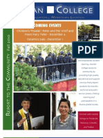 Report to the Community Fall 2010