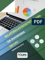 Relatório Estatístico Da Ouvidoria Do CFC 2016