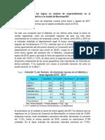 Cuáles Han Sido Los Logros en Materia de Emprendimiento en El Departamento Del Atlántico y La Ciudad de Barranquilla