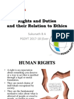 Rights and Duties and Their Relation to Ethics