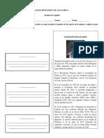 Examen de Biografía, palabras polisémicas y conjugación del verbo (5º).docx