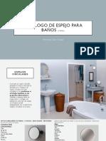 Catalogo de Espejos de Baño