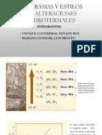 Estilos y Diagramas de Alteraciones Hidrotermales