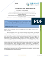 THERMO-MECHANICAL ANALYSIS OF HIGH TEMPERATURE  INSULATING COMPOSITES