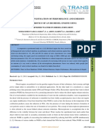 EXPERIMENTAL INVESTIGATION OF PERFORMANCE AND EMISSION  CHARACTERISTICS OF AN IDI DIESEL ENGINE USING  HOMOGENIZED WATER IN DIESEL EMULSION