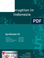 Corruption in Indonesia - Syndicate 10.pptx