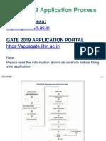 GATE 2019 Application Form Filling Instructions_Final