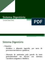 Sistema Digestório- Leonel