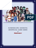 [Roundscape Adorevia] Unnoficial Game Guide (2)