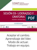 Sesion 03 Liderazgo y Oratoria
