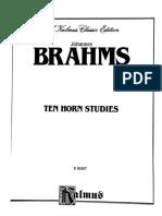 Brahms - 10 Etudes