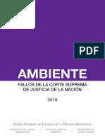 CSJN Suplementos Ambiente 2018