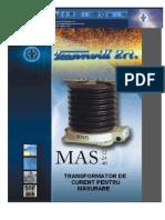 2 1 2 Transformatoare de Masura Curent Exterioare Tip MAS
