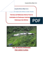 TDR de Cierre Termino de La Autorización de Desbosque 2da MEIAsd.