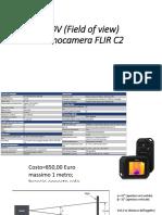 Calcolo FOV e IFOV della termocamera FLIR C2.pptx