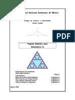Paquete Didáctico de Matemáticas IV Funciones Polinomiales