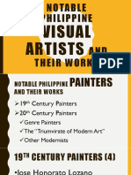 Notable Philippine Painting Artists and Their Works Ppt