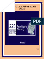 Psychiatric Nursing Bullets Reviewer 1