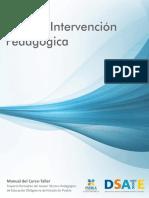 Plan de Intervención Pedagógica  DSATE