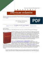 Salinger Vedanta