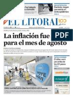 El Litoral Mañana   14/09/2018