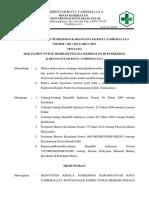 SK Jenis Dan Jadwal Pelayanan Di PKM