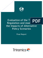 Evaluation of the TEN-E Regulation and Assessing the Impacts of Alternative Policy Scenarios - Final Report