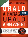 DR. DAVID J. LIEBERMAN - URALD A HARAGOD URALD A HELYZETET