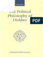 The Political Philosophy of Hobbes His Theory of Obligation