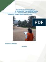 Informe Estimación Del Transito de Diseño Vía Jenesano