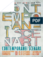Programma Festival Contemporanei Scenari 2018