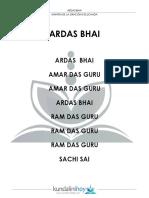 Ardas Bhai