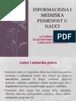 Informaciona i Medijska Pismenost u Nauci - Copy